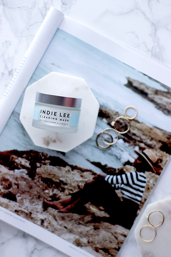 indie lee clearing mask review