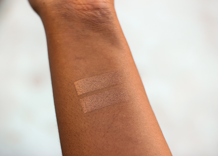 rms beauty madeira bronzer swatch